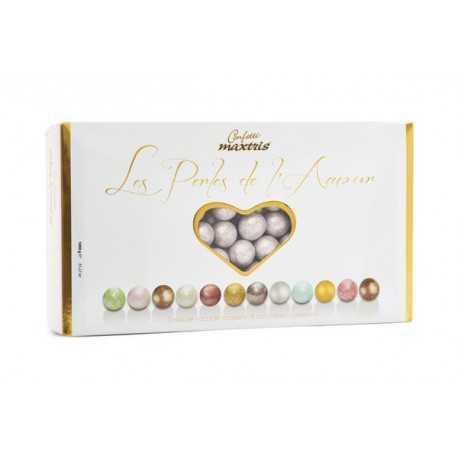 Confetti Maxtris Les Perles Silver Pearl - Perle Argentate