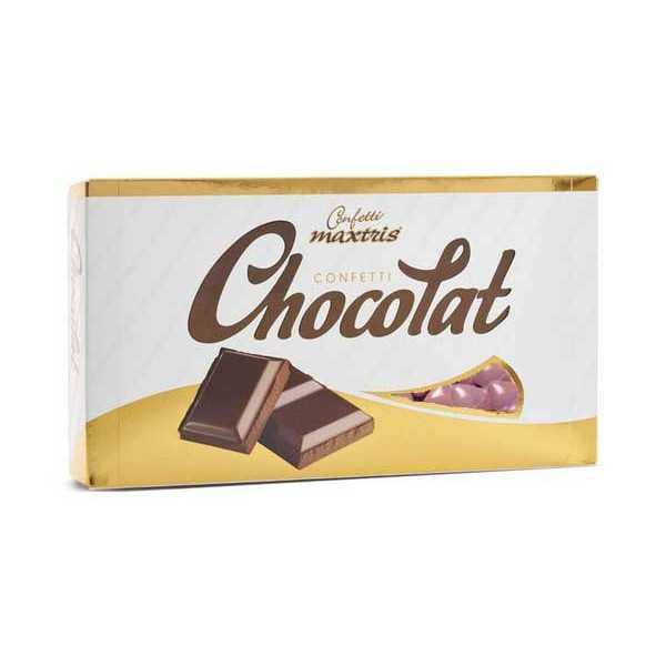 Cuori al Cioccolato Tesorini Maxtris Rosa