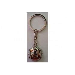 Portachiavi bomboniera coccinella cm 3