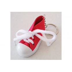 Bomboniera portachiavi Sneakers colore rosso