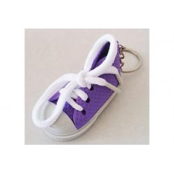 Bomboniera portachiavi Sneakers colore lilla