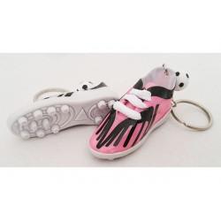 Bomboniera portachiavi scarpetta calcio colore rosa