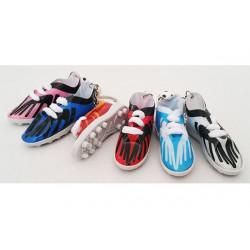 6 pz Bomboniera portachiavi scarpetta calcio colori misti