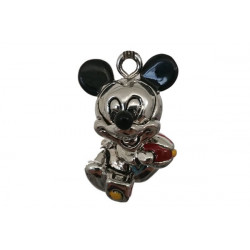 Ciondolo Argentato Topolino Disney