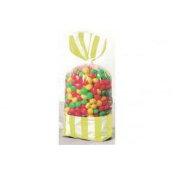 8 Sacchetti porta caramelle giallo