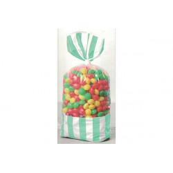 8 Sacchetti porta caramelle verde
