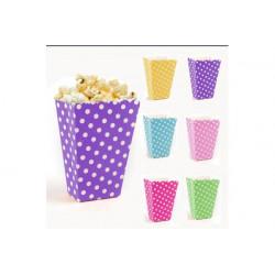 Popcorn Cup fantasia cm 12x8 pz 6