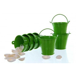 Secchiello portaconfetti bomboniera Verde