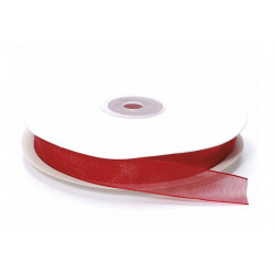 Nastro in organza rosso 20mmx23m