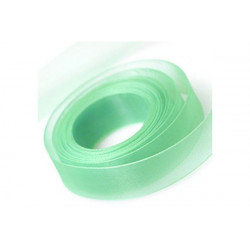 Nastro in Organza Verde Tiffany 25mmx45mt