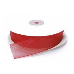 Nastro Organza Rosso 40mmx23m