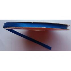 Nastro Doppio Raso Blu Elettrico 6mmx50mt