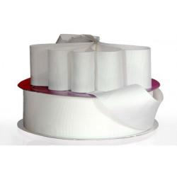 Nastro Grosgrain Bianco 10mmx20mt