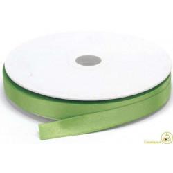 Nastro Doppio Raso Verde Mela 10mmx50mt