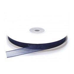 Nastro in organza blu notte 10mmx50mt