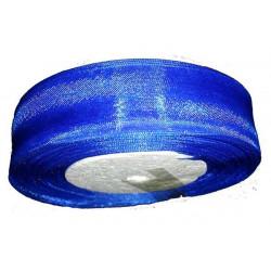 Nastro in organza blu elettrico 25mmx45mt