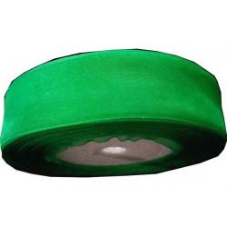 Nastro in organza verde 25mmx45mt