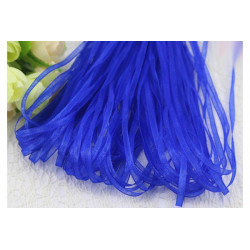 Nastro in organza royal blue 3mmx100mt