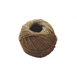 Spago in lino naturale gr 50 diametro mm 2