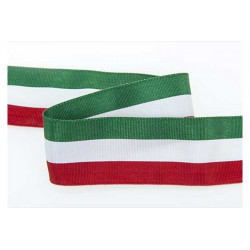 Nastro tricolore mm 40 x 25 mt