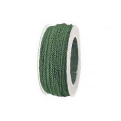 Cordino ritorto in Rayon 3mmx25m Verde