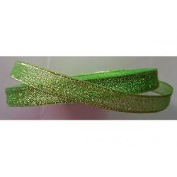 Nastro Verde Glitterato 10mmx23mt