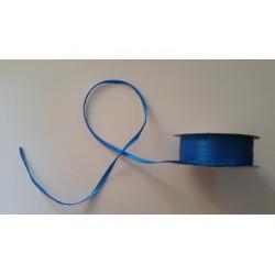 Nastro Doppio Raso Blu Elettrico 3mmx50mt