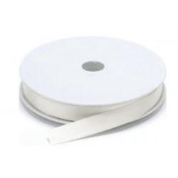 Nastro Doppio Raso Bianco 6mmx45mt