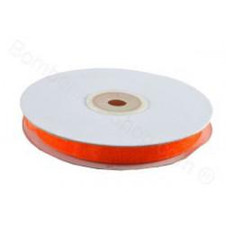 Nastro in Organza Arancione 6mmx50mt