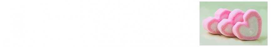 Vendita Marshmallow Cuore |CakeItalia Caramellata