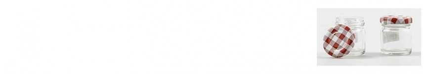 Vendita Barattolini in vetro per Conserve |CakeItalia Barattolini Bomb