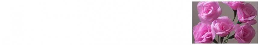 Vendita Fiori in Carta per Decorazioni |CakeItalia Fiori Bomboniere
