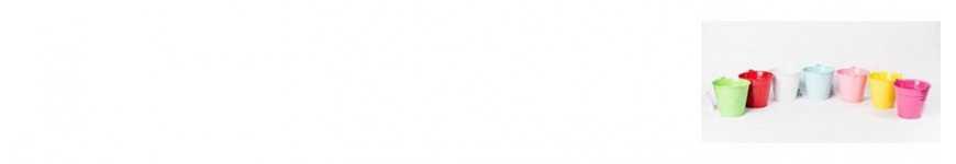 Vendita Secchielli in Latta|CakeItalia Secchielli Bomboniere