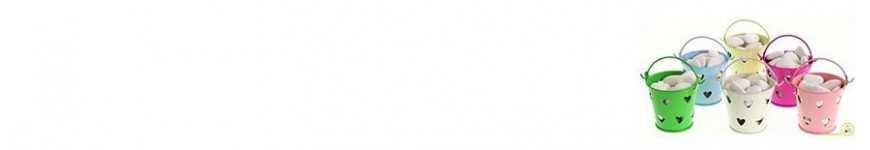 Vendita Secchielli con Cuore |CakeItalia Secchielli Bomboniere