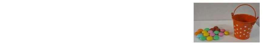 Vendita Secchielli a Pois |CakeItalia Secchielli Bomboniere