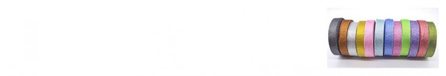Vendita Nastri Glitterati 20 e 40 mm |CakeItalia Nastri e Cordini