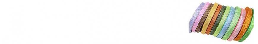 Vendita Nastri Glitterati 6mm e 10mm |CakeItalia Nastri e Cordini