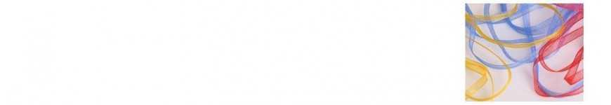 Vendita Nastrini Organza 3mm |CakeItalia Nastri e Cordini