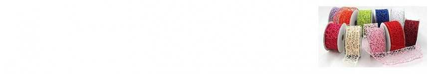 Vendita Nastri a Rete per Bomboniere |CakeItalia Nastri e Cordini