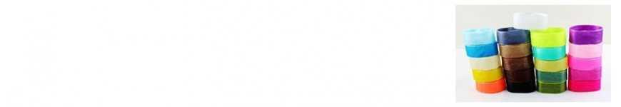 Vendita Nastri Organza 20mm e 25mm |CakeItalia Nastri e Cordini