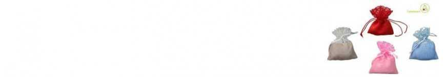 Sacchettini a Rete e Polycotton |CakeItalia Sacchetti Porta Confetti