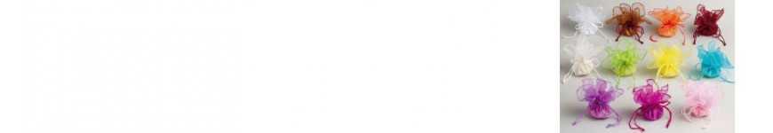 Vendita Sacchetti in Organza Tondi e Quadrati |CakeItalia Sacchetti
