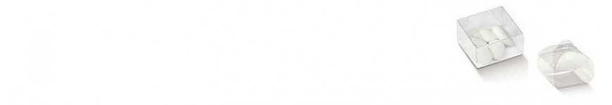 Vendita Scatoline PVC Trasparenti |CakeItalia Scatoline Bomboniere