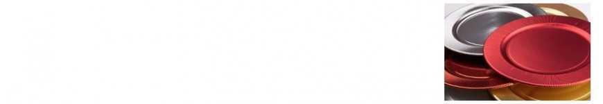 Sottopiatti da Portata Colorati |CakeItalia Monouso per Tavola