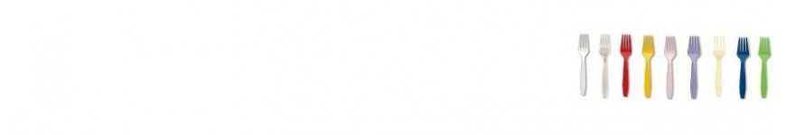 Forchette Monouso Colorate |CakeItalia Monouso per Tavola