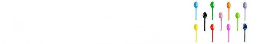 Cucchiai e Cucchiaini Monouso Colorati |CakeItalia Monouso per Tavola