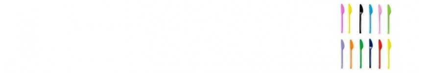 Coltelli Monouso Colorati |CakeItalia Monouso per Tavola